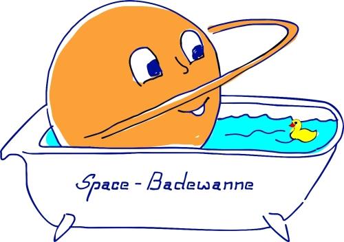 Space-Badewanne